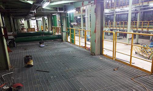 电厂钢格板安装案例